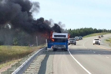 American man offered job, cottage after RV fire took everything on Cobequid pass | Nova Scotia is Awesome! | Scoop.it