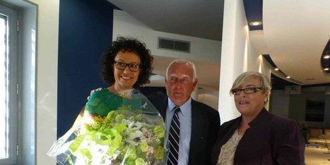 Arcachon : Isabelle Galinier reçoit la médaille du tourisme | SIBA La Revue de Presse | Scoop.it