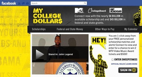 SCHOOLED!: MTV Helping Students Battle College Debt With A Facebook App | Fast Company | TonyPotts | Scoop.it
