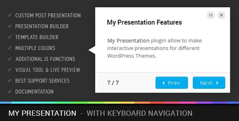Download: My Presentation v0.8 - Codecanyon Premium Plugin | Free Word Press Theme & Plugins. | Scoop.it