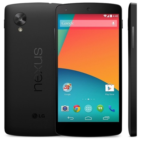 Google Accidentally Leaks Nexus 5 Smartphone, Again [Image] | CountWithMe | Scoop.it