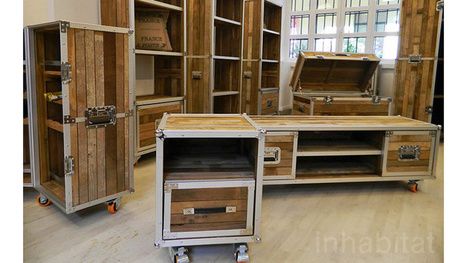 Travel Case Furniture For Roadies Looking To Finally Settle Down   No Place Like Home   Scoop.it
