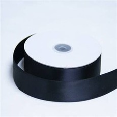 Satin Ribbon (25mm x 45metres) – Black | Satin Ribbon | Scoop.it