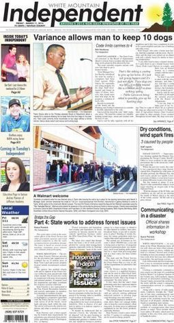 White Mountain Independent | CALS in the News | Scoop.it