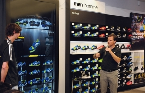Adidas installe des rayons virtuels dans ses magasins réels | Retail & Brands | Scoop.it