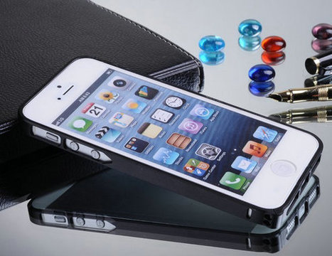 Luxury Ultra Thin 0.7mm Black Metal Bumper Case for iPhone 5/ 5S | Latest phone accessories | Scoop.it