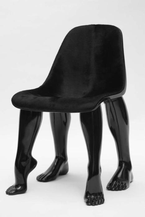 Pharrell Williams, Perspective (black) 2008 Courtesy: Galerie Emmanuel Perrotin Miami / Paris et Domeau & Pérès Paris | Library design and architecture | Scoop.it