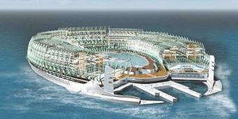 Une île flottante | Hospitality Sur et Sous l'eau | Scoop.it