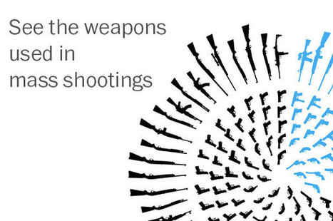 Graphic: Weapons used in mass shootings in the U.S. | Data Head | Scoop.it