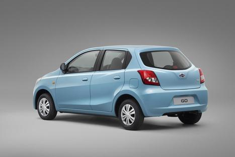 Datsun GO Rear View | Maxabout Images | Scoop.it
