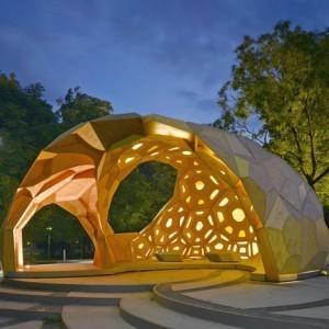 Dezeen » ICD/ITKE Research Pavilion at the University of Stuttgart | Urban Design | Scoop.it