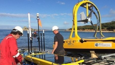 Big robot fleet takes to UK waters   Marine Technology   Scoop.it