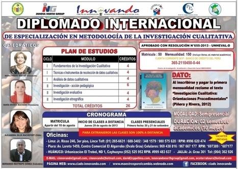 Diplomado Internacional en Metodología de la Investigación Cualitativa | RedDOLAC | Scoop.it