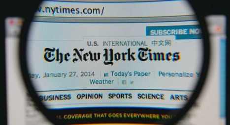 Le 'New York Times' a atteint la barre du million d'abonnés numériques | mediasnews | Scoop.it