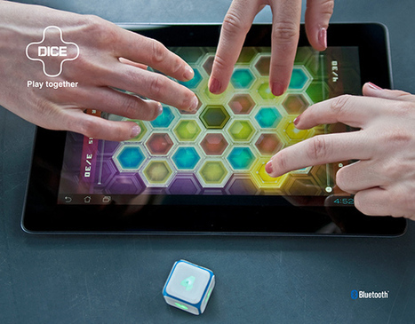 DICE+, Electronic Dice by Mindsailors | 16s3d: Bestioles, opinions & pétitions | Scoop.it
