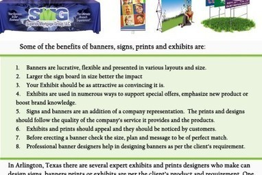 Exhibits and Printing   FASTSIGNS International, Inc.   Scoop.it