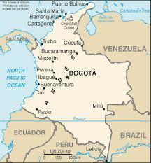 Map of country   Colombia, Blade Campbell   Scoop.it