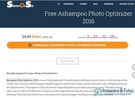 Offre promotionnelle : Ashampoo Photo Optimizer 2016 gratuit ! | Freewares | Scoop.it