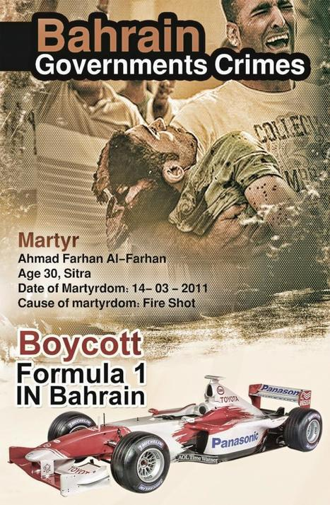 Bahrain Government crimes - Boycott Bahrain F1 | Human Rights and the Will to be free | Scoop.it