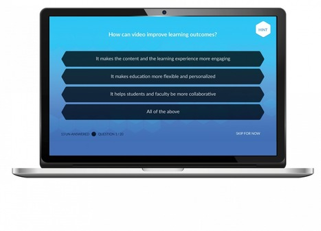 Interactive Online Video Quizzing | Kaltura | Education Technology - theory & practice | Scoop.it