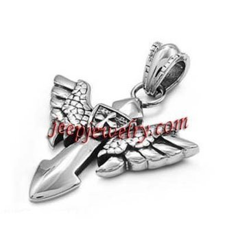 Wholesale 316L stainless steel feather on the cross pendent - $ 3.20 : Fashion Steel Jewelry | How to choose an ideal jewelry for your lover | Scoop.it