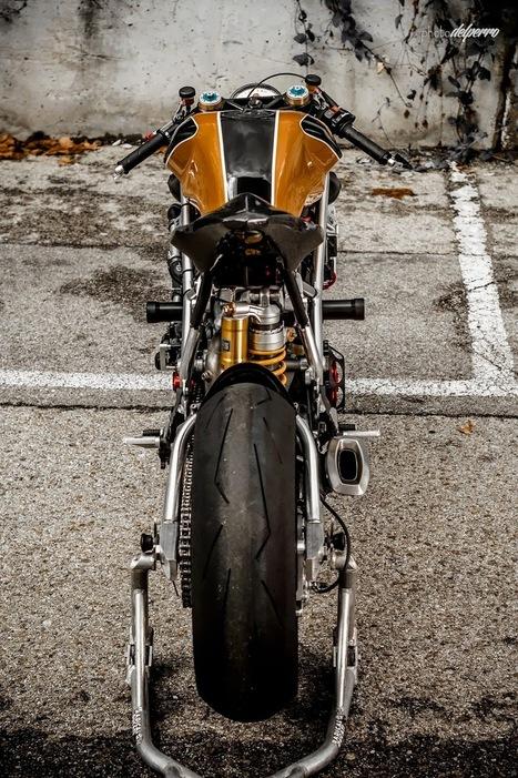 Custom Ducati 1198   Radical Ducati Matador - Grease n Gasoline   Smotra-moto.ru   Scoop.it