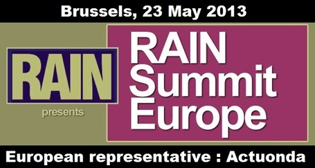 Learn and network with the Internet Radio industry's top leaders at RAIN Summit Europe @ Brussel 23rd of May | Radio 2.0 (Esp) | Scoop.it