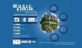 FESTIVAL MUSIC ET FAB LAB A MONTREUIL | Eco-con... | Fab Lab à l'université | Scoop.it