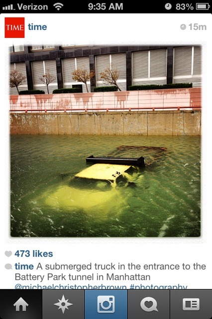 Time Magazine Hires Photojournalists to Instagram Sandy | Social Media and Journalists | Scoop.it