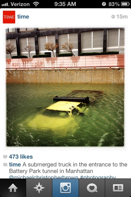 Time Magazine Hires Photojournalists to Instagram Sandy | iPhoneography attempts and journalism | Scoop.it