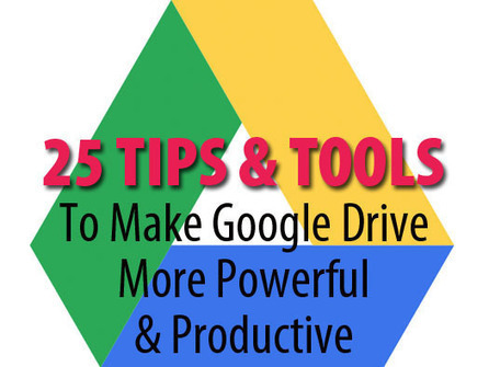 25 tips and tools to make Google Drive better | EduInfo | Scoop.it