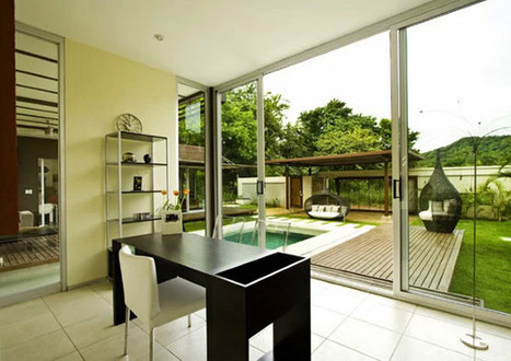 Sustainable and Impressive Looking Home in Costa Rica - Freshome   Healthy Homes Chicago Initiative   Scoop.it