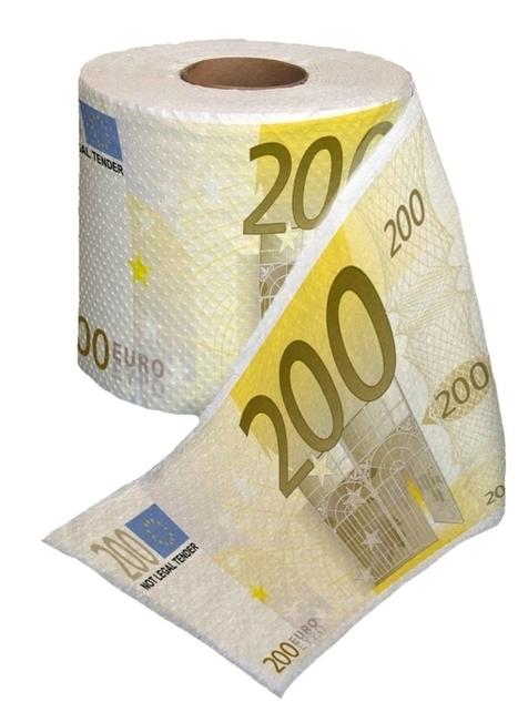 200 Euro Toilet Paper | Dynamic Modern Marketing | Scoop.it