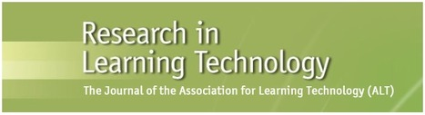 Linking theory to practice in learning technology research | Gunn | Research in Learning Technology | eLearning and Blended Learning in Higher Education | Scoop.it