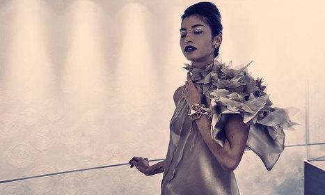 Ken Okada, la silhouette conçue par la créatrice japonaise a pris un pli glamour - Les hauts de la Mode   leshautsdelamode   Scoop.it