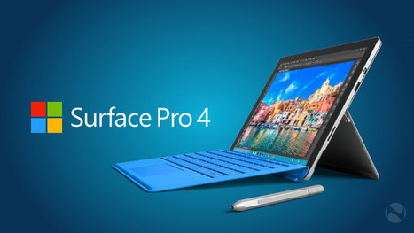 Microsoft offers 15% discount on Surface Pro 4 with Core i5 and 128GB storage; now $849 | Windows 8 - CompuSpace | Scoop.it