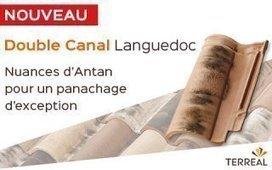 La Double Canal Languedoc s'enrichit d'une nouvelle teinte nuancée pour mettre en valeur les belles bâtisses : Nuances d'Antan. Cette teinte vieillie et très variée peut s'adapter à tous les toits ... | Terre cuite France | Scoop.it