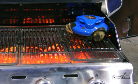 Tired of Cleaning the Grill? This Robot Can Help. - Reviewed.com Ovens | Troy West's Show Prep | Scoop.it