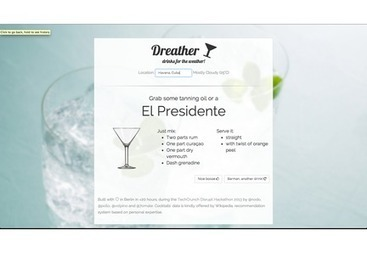 Dreather - drinks for the weather | Jaien Digital Curation | Scoop.it