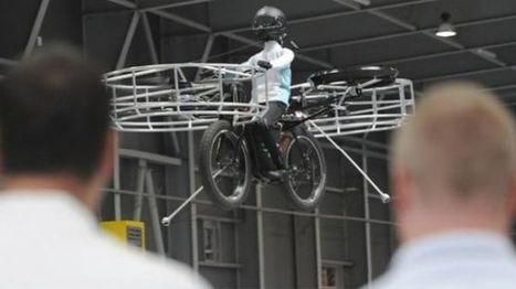 220-pound flying bicycle test flight a success | Xposed | Scoop.it