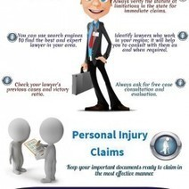 How to Smartly Choose Your Personal Injury Lawyer? | Visual.ly | Legal Issues - Challenging Societies | Scoop.it