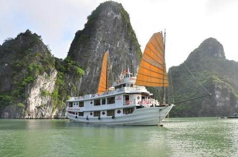 Croisiere en Jonque Oriental sails a la baie Halong   Collection des voyages   Scoop.it