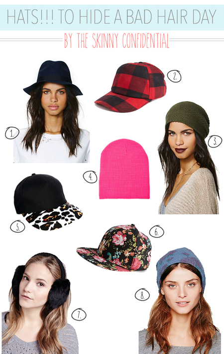 How to Hide a Bad Hair Day & Still Look Chic: HATS! | Womens' Hats | Scoop.it