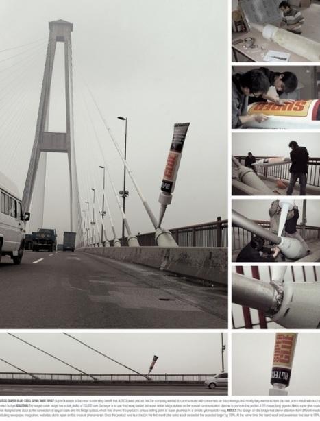 Street Marketing pour de la Super Glue - | Veille perso - Street Marketing | Scoop.it