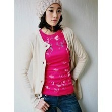SALE : Pink Etched Print T-Shirt | Japanese Fashion | Scoop.it