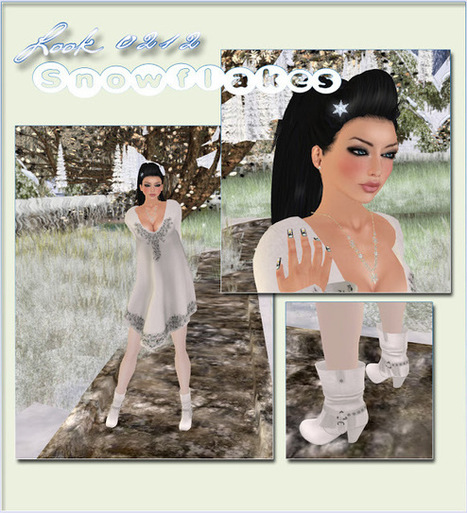Awisome: Look 0212 - Snowflakes | Awisome | Scoop.it