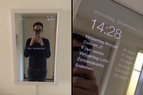6 Best Raspberry Pi Smart Mirror Projects We've Seen So Far | ANALYZING EDUCATIONAL TECHNOLOGY | Scoop.it