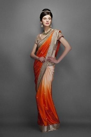 10 Steps to Drape a Saree in the Classic Nivi Style | zarilane | Scoop.it