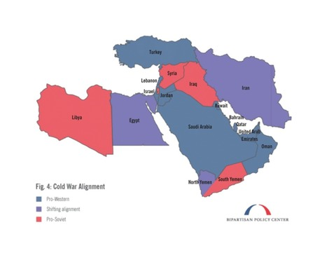 Four maps that explain the chaos of the Middle East | Geography Education | Scoop.it