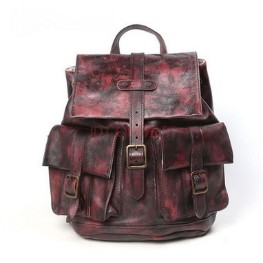 Rust distressed leather backpack for women from Vintage rugged canvas bags | Collection of backpack | Scoop.it